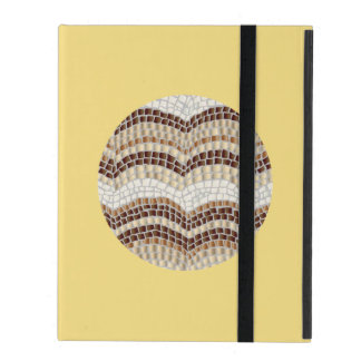 Round Beige Mosaic iPad 2/3/4 Case iPad Covers