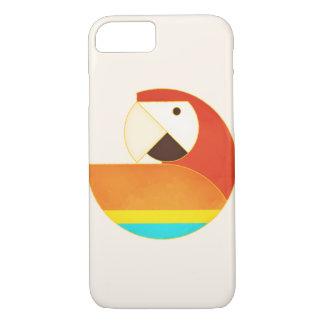 Round Bird - Macaw iPhone 7 Case
