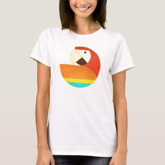 Round Bird - Macaw T-Shirt