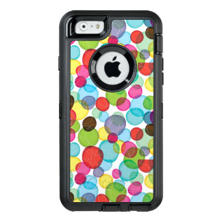 Round bubbles kids pattern 2 OtterBox defender iPhone case