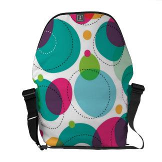Round bubbles kids pattern commuter bag