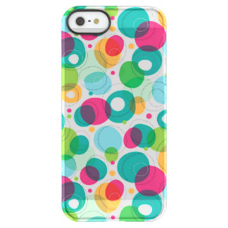 Round bubbles kids pattern permafrost® iPhone SE/5/5s case