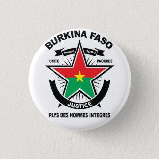 Round button BURKINA FASO FASO