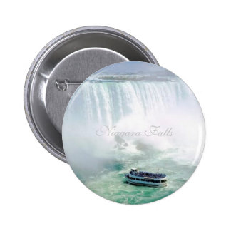 Round Button, Niagara Falls 6 Cm Round Badge