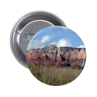 round button with photo of Arizona red rocks