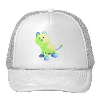 Round cat hat