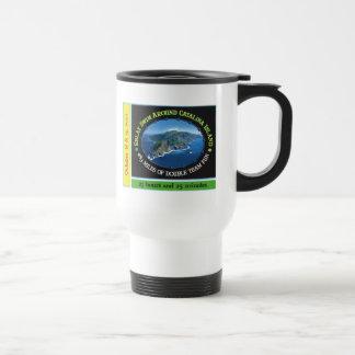 round Catalina Island Relay Swim Travel Mug
