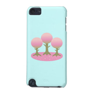 Round Cherry Blossom Trees iPod Touch 5G Case