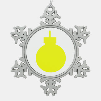 round christmas ornament yellow.png