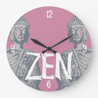 Round clock BUDDHA