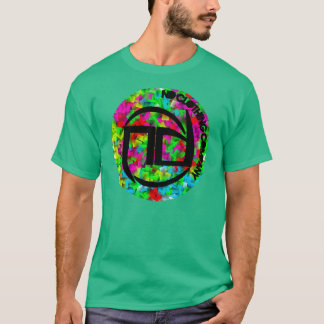 Round Colours tee green