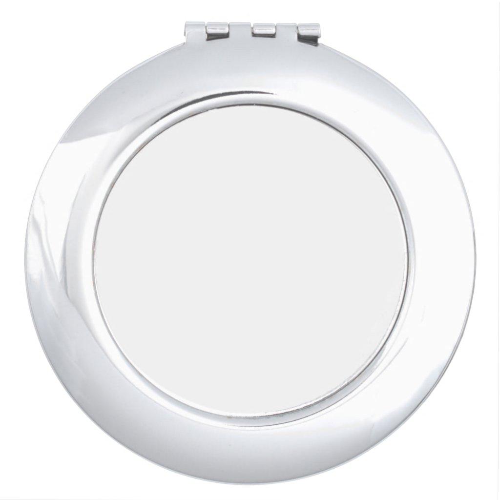Round Compact Mirror