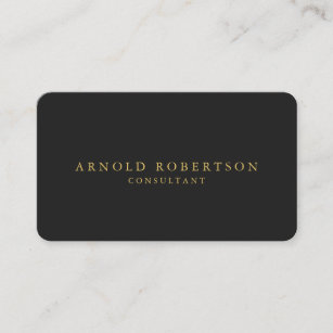 Rounded corners business cards zazzle uk round corner grey gold professional business card reheart Images