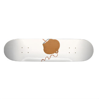 Round Cowbell Abstract Graphic Image 20.6 Cm Skateboard Deck