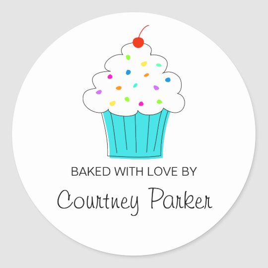 Round Cupcake Labels, From the Kitchen Of Classic