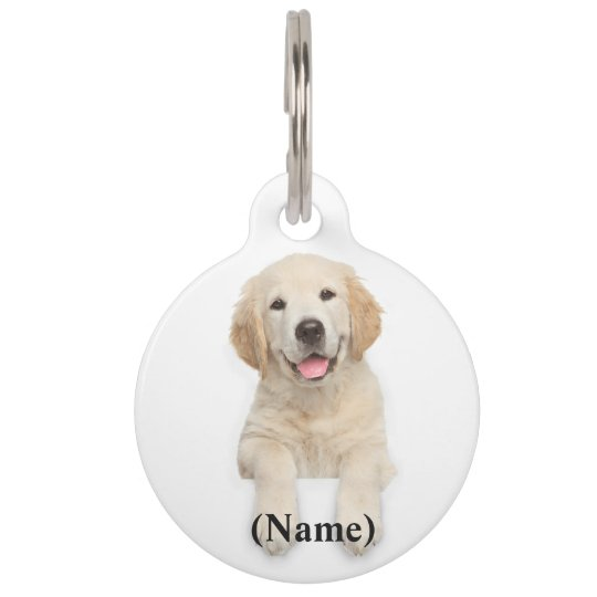 Round Custom Pet Tag/Quote Pet Tag
