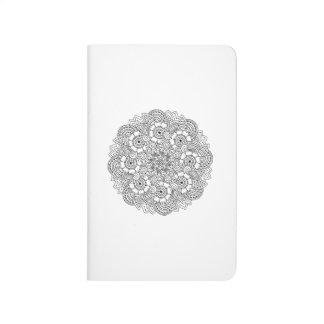 Round Design Doodle Journal