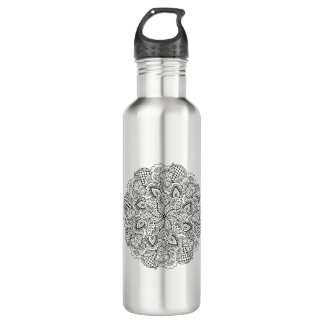 Round Doodle 710 Ml Water Bottle
