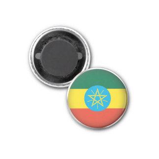 Round Ethiopia Magnet