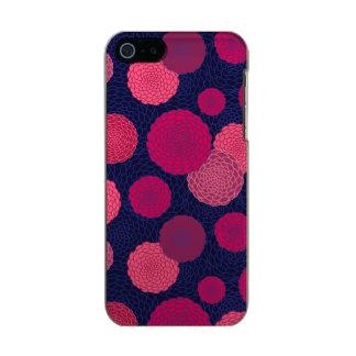 Round flowers pattern incipio feather® shine iPhone 5 case