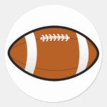 Round Football Stickers