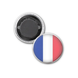 Round France 3 Cm Round Magnet