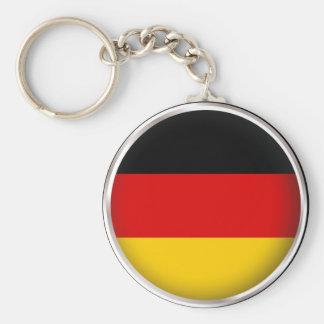 Round Germany Keychains