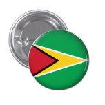 Round Guyana 3 Cm Round Badge