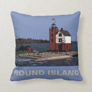 ROUND ISLAND LIGHT CUSHION