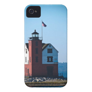 Round Island Lighthouse iPhone 4 Case