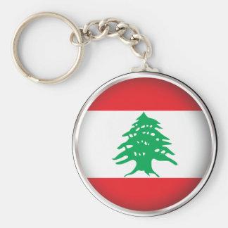 Round Lebanon Key Ring