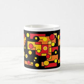 round lights coffee mug