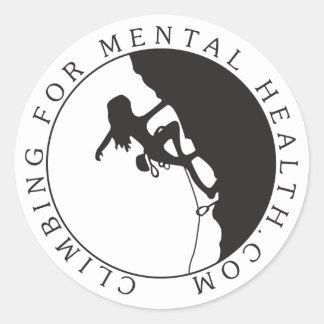 Round Logo Sticker, Glossy Round Sticker