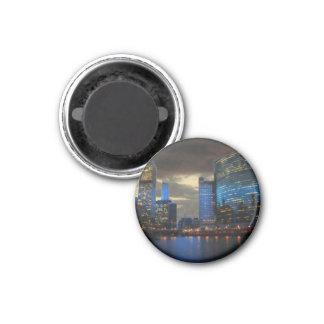 Round magnet Chicago