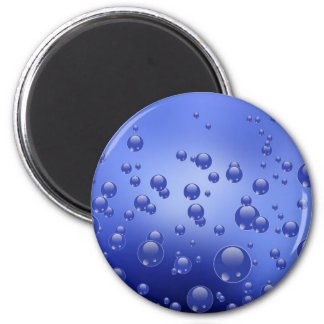 """Round magnet """" Water bubbles """""""