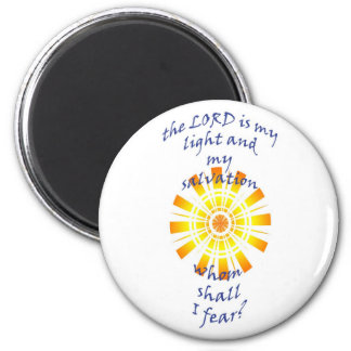 round magnet with inspirational bible verse