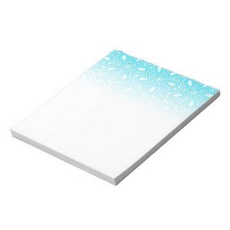 Round mosaic notepad