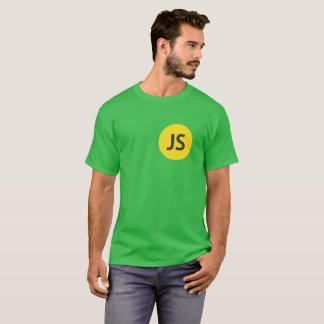 Round Neck Green T-shirt with logo