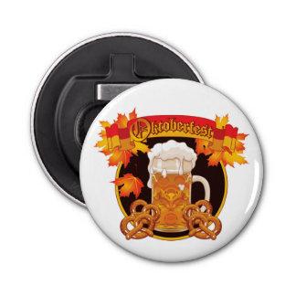 Round Oktoberfest Celebration Design Bottle Opener