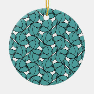 Round Ornament with Rollin' Design
