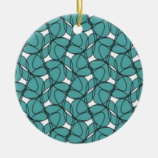 Round Ornament with Rollin' Design