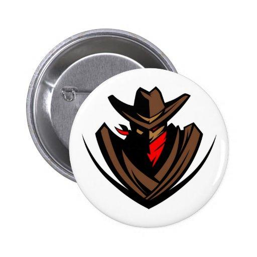 Round Outlaw Button