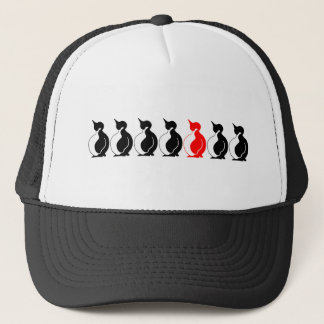 Round Penguin group Trucker Hat