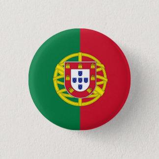 round Portugal swipes in 3 Cm Round Badge