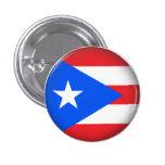 Round Puerto Rico 3 Cm Round Badge