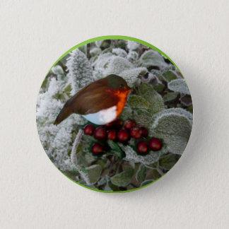 Round Robin 6 Cm Round Badge