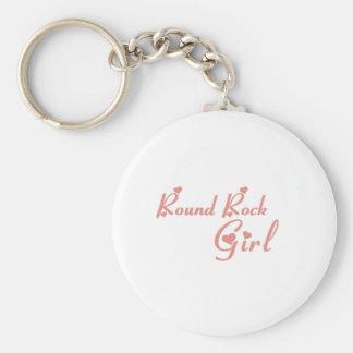 Round Rock Girl tee shirts Keychain