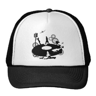 Round & Round Mesh Hat