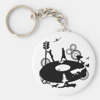 Round Round Key Chain