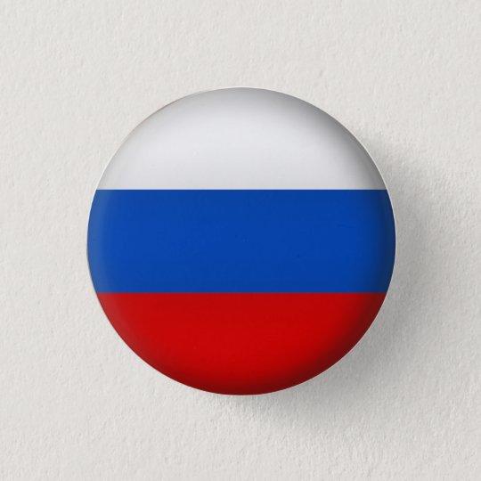 Round Russia 3 Cm Round Badge